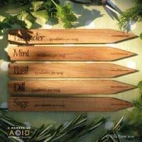 Oak Herb Labels